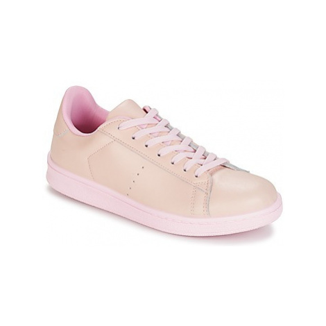 Yurban EZIME women's Shoes (Trainers) in Pink