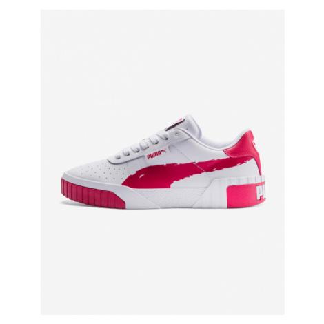 Puma Cali Brushed Sneakers Pink White