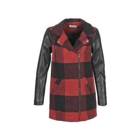 Noisy May TEXAS women's Coat in Red