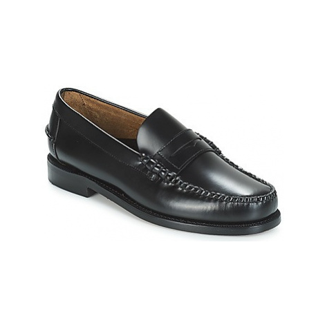 Sebago CLASSIC PENNY BRUSHED men's Loafers / Casual Shoes in Black