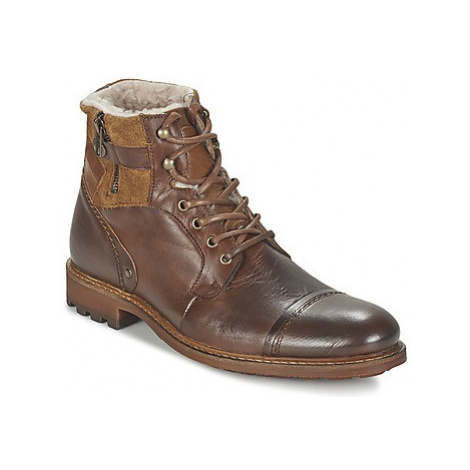 Casual Attitude FIRDAOUS men's Mid Boots in Brown