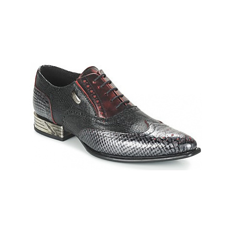 New Rock NORE men's Smart / Formal Shoes in Black