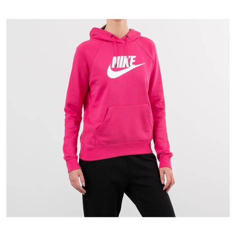 Nike Sportswear Essential Pullover Hybrid Hoodie Watermelon/ White
