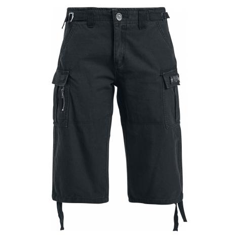 Black Premium by EMP - Army Vintage Shorts - Girls shorts - black