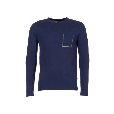 Scotch Soda JISCAR men's Sweater in Blue Scotch & Soda