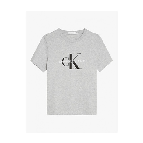 Calvin Klein Boys' Organic Cotton Monogram Logo T-Shirt