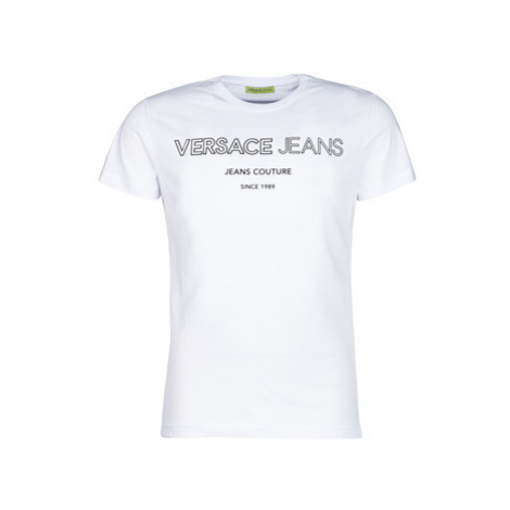 Versace Jeans Couture SOLINO men's T shirt in White