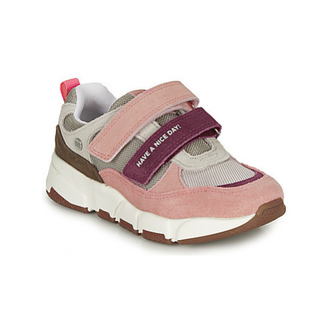 Gioseppo EUPEN girls's Children's Shoes (Trainers) in Pink