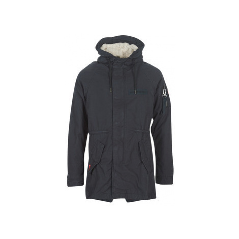 Superdry WINTER AVIATOR PARKA men's Parka in Blue
