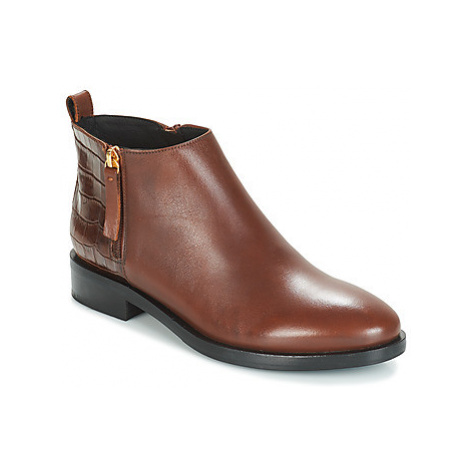 Geox DONNA BROGUE women's Mid Boots in Brown