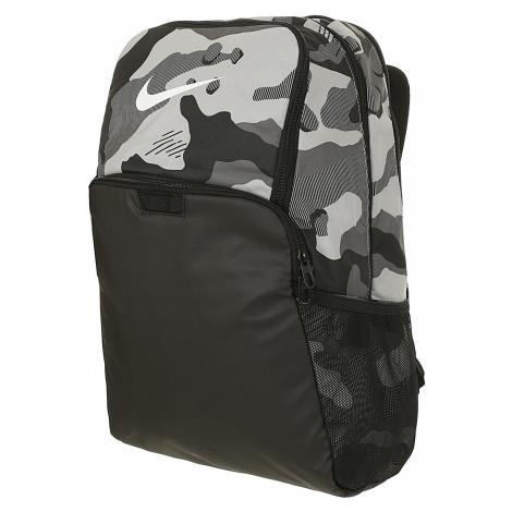 backpack Nike Brasilia XL 9.0 AOP 3 - 077/Light Smoke Gray/Black/White