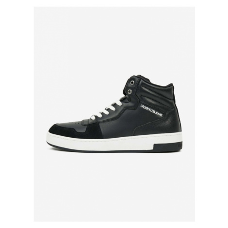 Calvin Klein Lace Up Sneakers Black