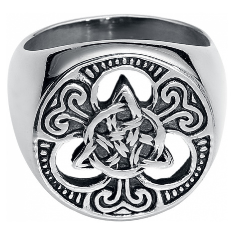 EtNox hard and heavy - Celtic Knots - Ring - silver-coloured
