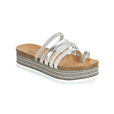 Mustang 1309701-23 women's Mules / Casual Shoes in Silver