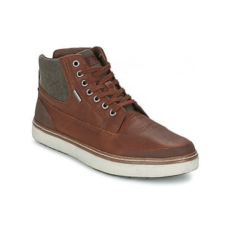 Geox MATTIAS men's Shoes (High-top Trainers) in Brown