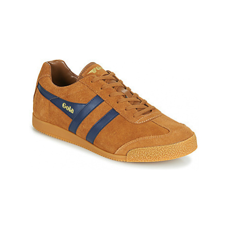 Gola HARRIER men's Shoes (Trainers) in Brown