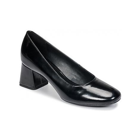 Geox D SEYLISE MID women's Court Shoes in Black