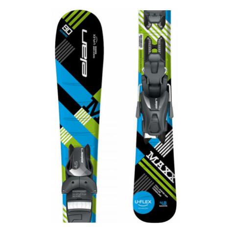 Elan MAXX BLK BLUE QS + EL 4.5 - Boys' downhill skis