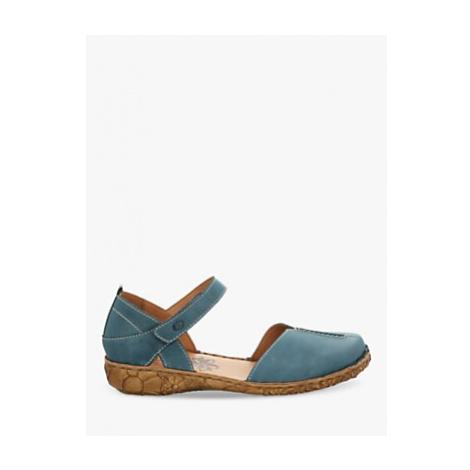 Josef Seibel Rosalie 42 Leather Sandals, Azure Blue