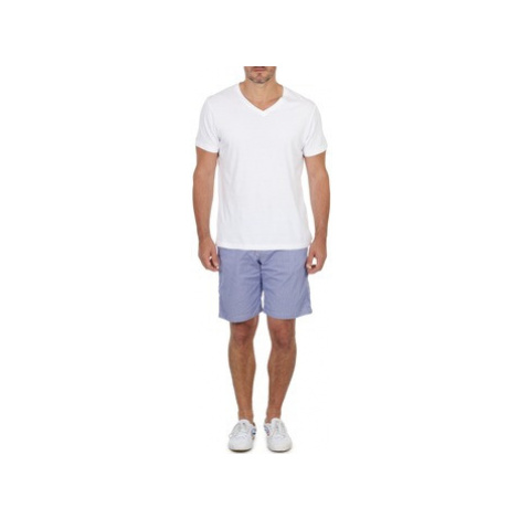 Franklin Marshall GAWLER men's Shorts in Blue Franklin & Marshall