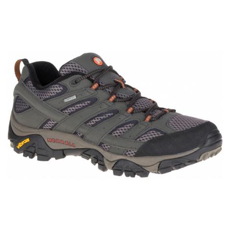 Merrell Mens Moab 2 Low GORE-TEX Hiking Shoe - Beluga - 12