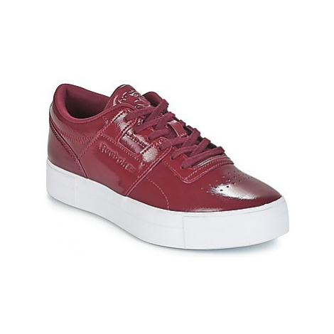 Reebok Classic WORKOUT LO FVS women's Shoes (Trainers) in Bordeaux