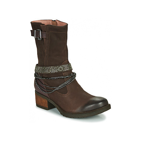 Mam'Zelle DOLMIA women's High Boots in Brown