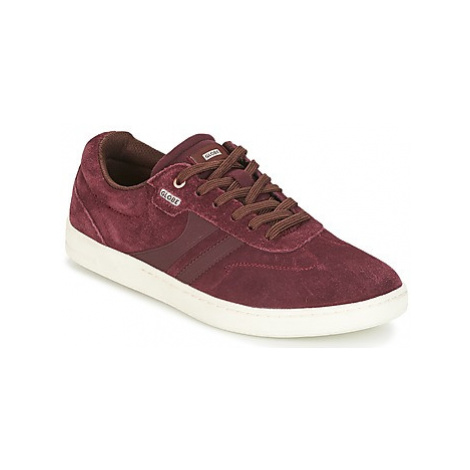 Globe EMPIRE men's Skate Shoes (Trainers) in Red