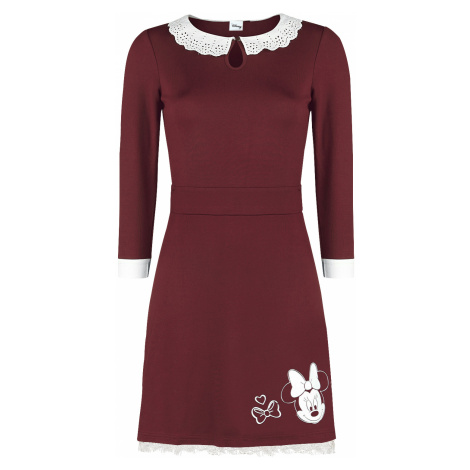 Mickey Mouse - Minnie - Smile - Dress - burgundy