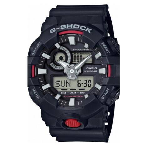 Mens Casio G-Shock Alarm Chronograph Watch GA-700-1AER