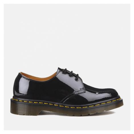 Dr. Martens Women's 1461 Patent Lamper 3-Eye Shoes - Black - UK Dr Martens