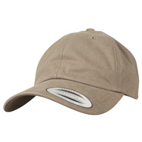 Urban Classics Peached Cotton Twill Dad Cap loden