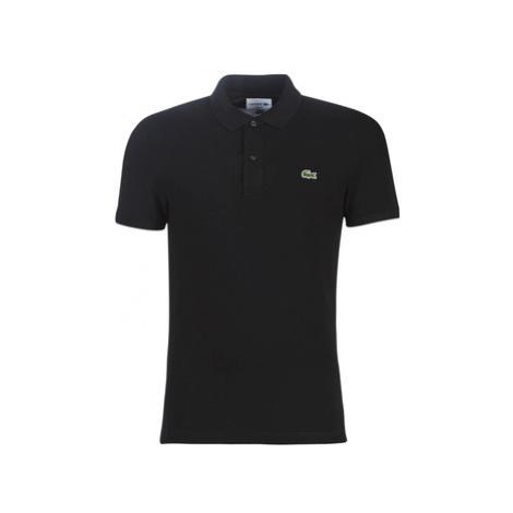 Lacoste PH4012 SLIM men's Polo shirt in Black