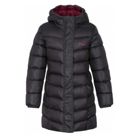 Loap INDORKA dark gray - Girls' coat