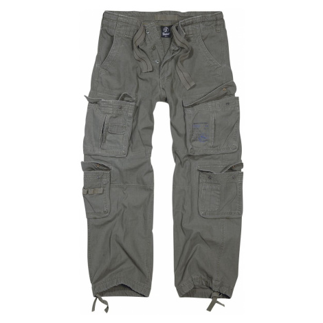 Brandit Pure Vintage Trousers Cargo Trousers olive