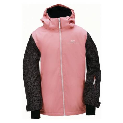 2117 TÄLLBERG pink - Kids' ski jacket