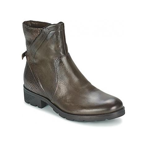 Mjus CAZIN women's Mid Boots in Brown