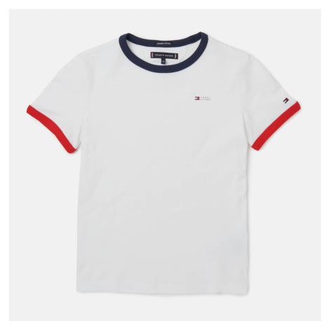 Tommy Hilfiger Boys' Ringer T-Shirt - White