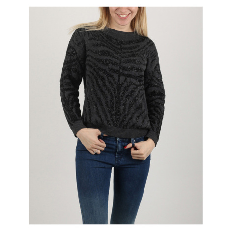 Diesel M-Crepes Sweater Black Grey