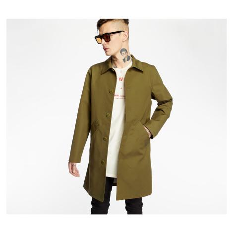 Green men's coats, parkas and trench coats