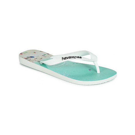 Havaianas HYPE men's Flip flops / Sandals (Shoes) in White