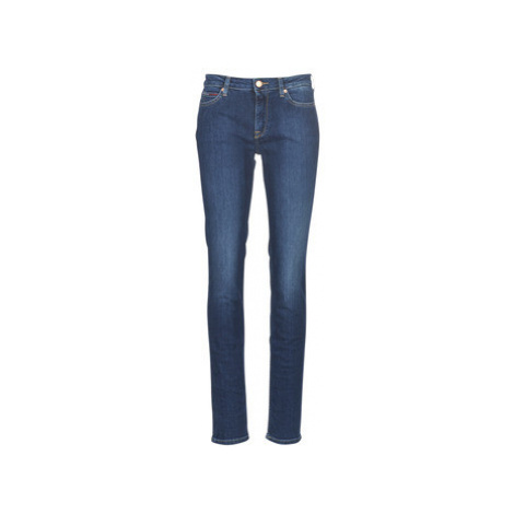 Tommy Jeans MID RISE STRAIGHT TJ 1985 DXDK women's Jeans in Blue Tommy Hilfiger