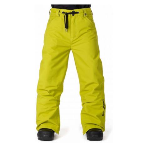 Horsefeathers CHEVIOT KIDS PANT yellow - Boys' ski/snowboard pants
