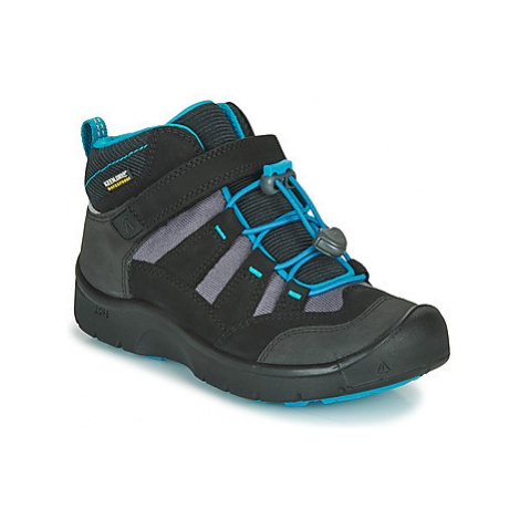 Keen HIKEPORT MID WP girls's Children's Walking Boots in Black