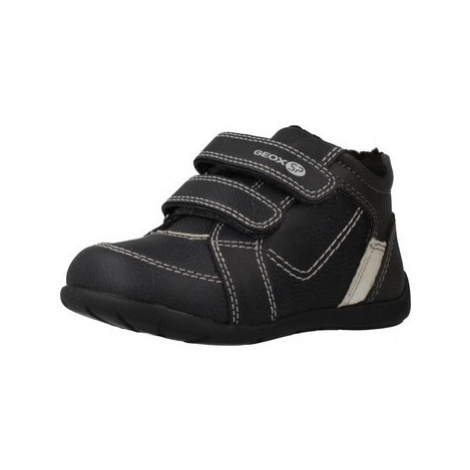 Geox B ELTHAN BOY boys's Children's Shoes (Trainers) in Black