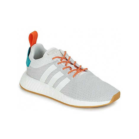 Adidas NMD R2 SUMMER women's Shoes (Trainers) in Grey