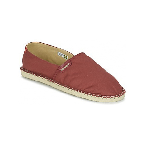 Havaianas ORIGINE III women's Espadrilles / Casual Shoes in Red