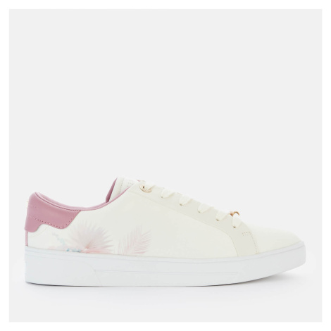 Ted Baker Women's Delylas Cupsole Trainers - White - UK
