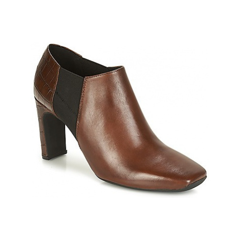 Geox D VIVYANNE HIGH women's Low Boots in Brown