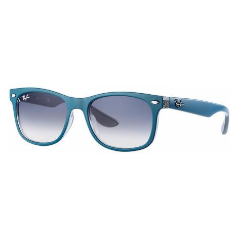 Ray-Ban New wayfarer junior Unisex Sunglasses Lenses: Blue, Frame: Blue - RJ9052S 703419 48-16
